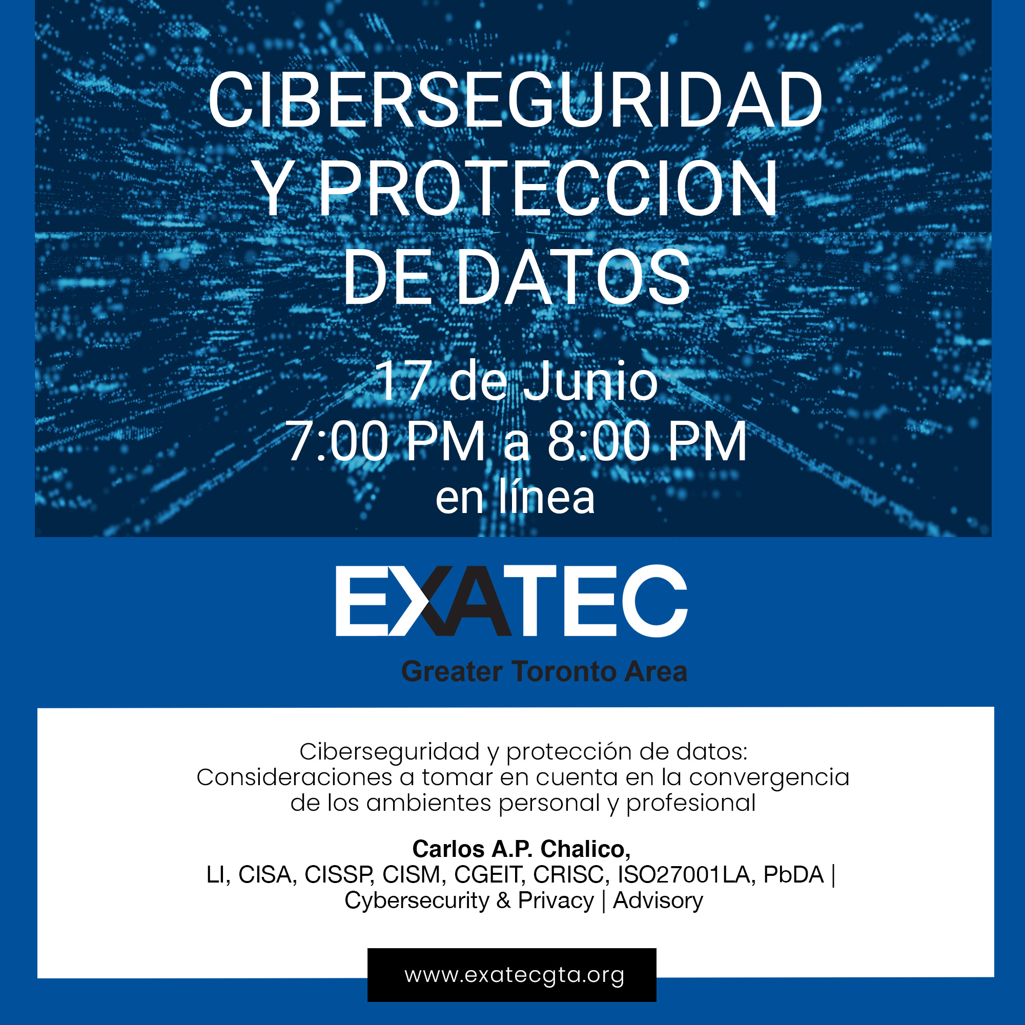 EXATEC GTA Webinar - Cybersecurity and Data Protection
